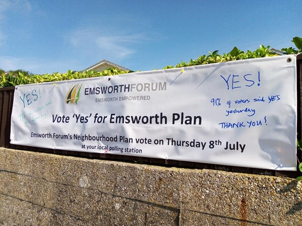 Yes vote forum July 2021